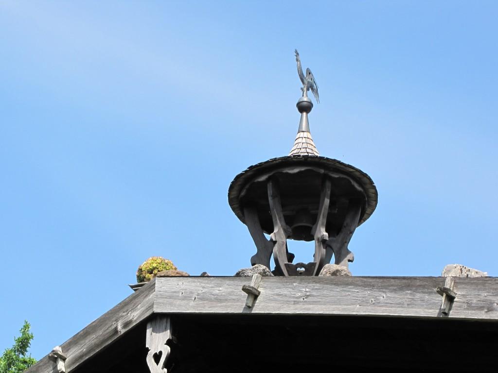 Wetter Wurz und Gockel am Dach