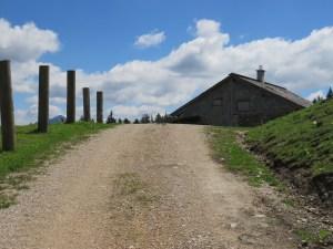 Die Zwieselalmhütte bereits in Sichtweite (c)TVB Annaberg-Lungötz