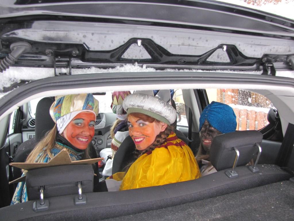 Alle haben Platz im Auto, auch der Stern (c)Sylvia Schober